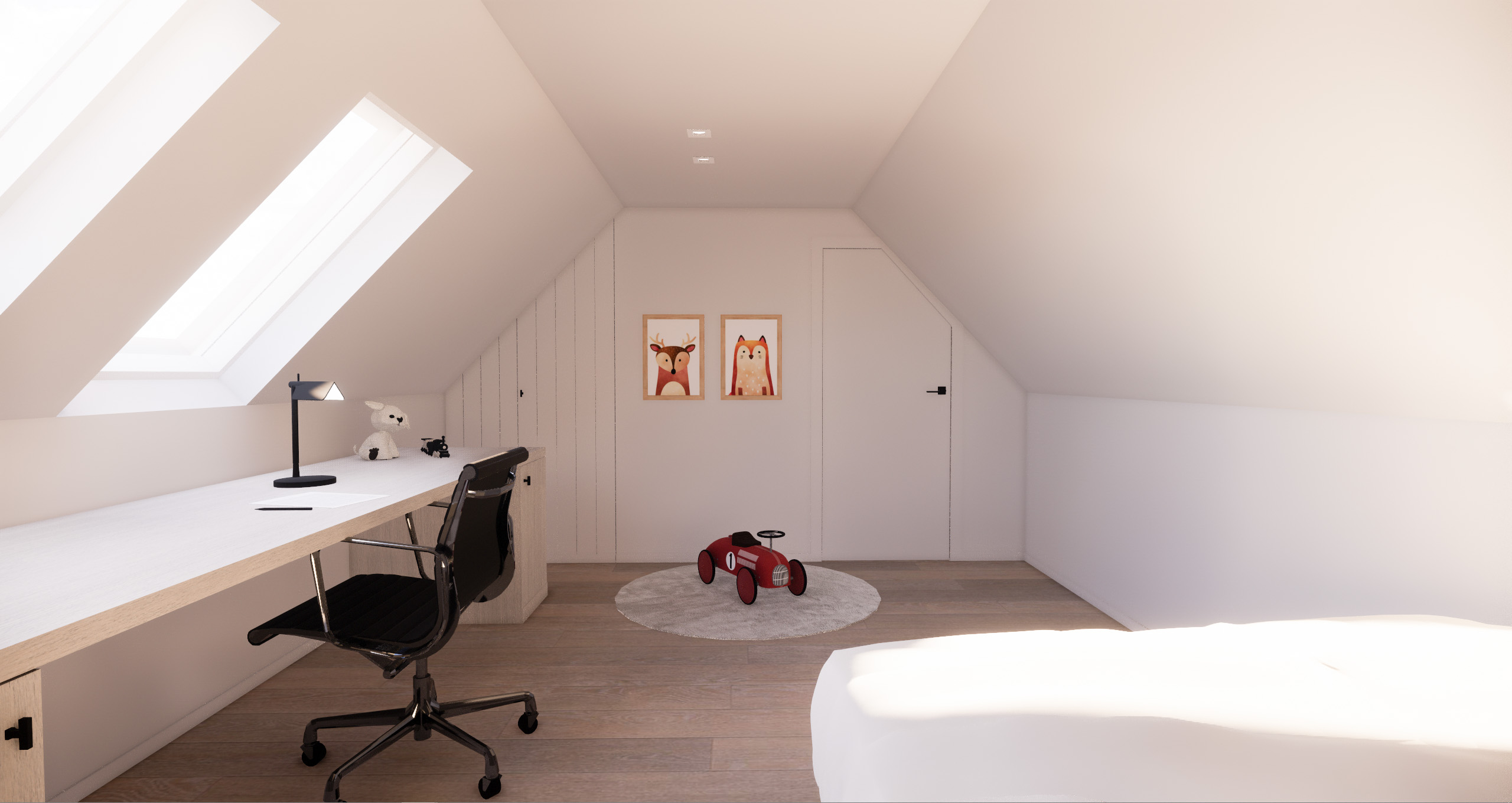 Kinderkamer / Chambre d'enfant Oudenaarde